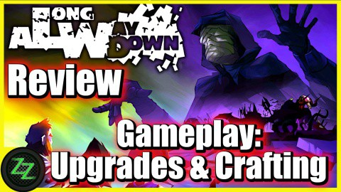 A Long Way Down Gameplay - Upgrades and Crafting