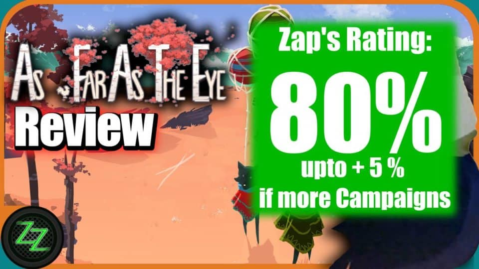 As Far As The Eye Review - Karawanen Aufbau Strategie im Gameplay Test 06a Rating - Wertung with numbers