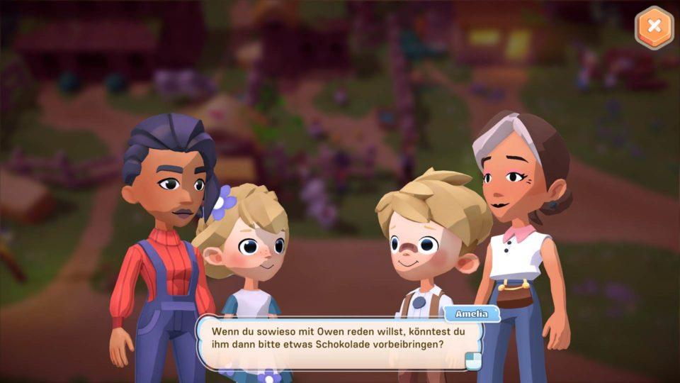 Big Farm Story Gameplay - Vorstellung der fröhlichen Bauernhof Sim - Conversations and Quests with NPCs - Unterhaltungen und Aufgaben mit NPCs