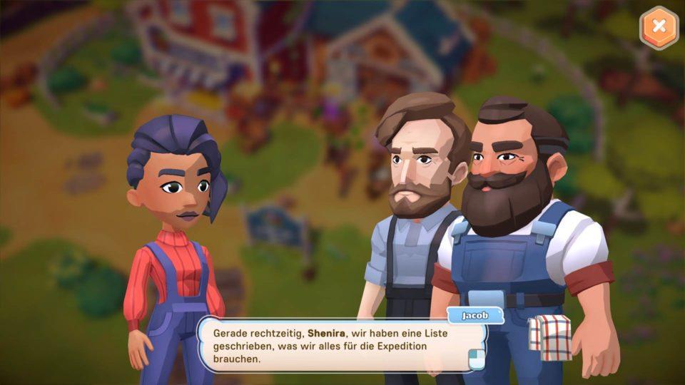 Big Farm Story Gameplay - Vorstellung der fröhlichen Bauernhof Sim - Many different people make it a living place - Durch viele unterschiedliche Leute wird es eine lebendige Welt