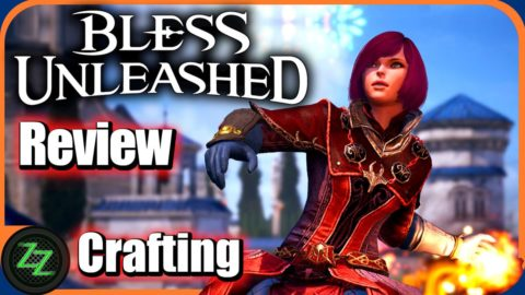 Bless Unleashed Test Crafting and Gathering