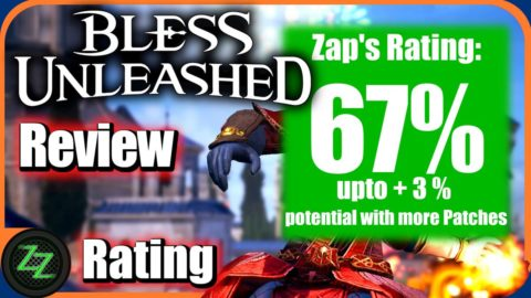 Bless Unleashed Review (Deutsch) Asia Story MMORPG mit Action Combat im Test 13a Rating with numbers 67 percent - Wertung mit Zahlen 67 Prozent