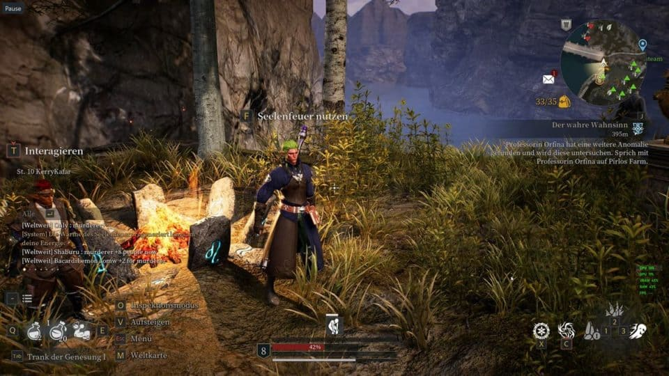 Bless Unleashed Review (Deutsch) Asia Story MMORPG mit Action Combat im Test - At the campfire - Am Lagerfeuer