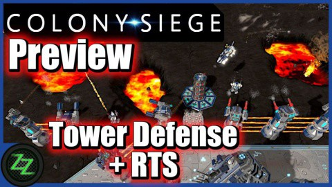 Colony Siege (p)Review - RTS + Tower Defense Mix im Weltraum (German, many subtitles) 01 - Game Type - Spieltyp - Wie spielt sich Colony Siege - Tower Defense + RTS Mix