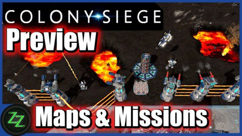 Colony Siege (p)Review - RTS + Tower Defense Mix im Weltraum (German, many subtitles) 02 - Gameplay - Maps & Missions