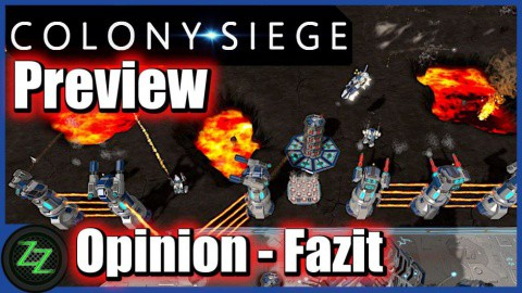Colony Siege (p)Review - RTS + Tower Defense Mix im Weltraum (German, many subtitles) 09 Colony Siege Opinion and Conclusion - Meinung und Fazit