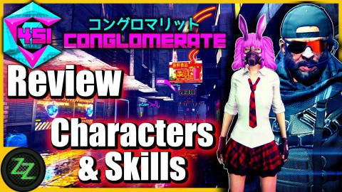 Conglomerate 451 Test - Gameplay - Characters and Skills
