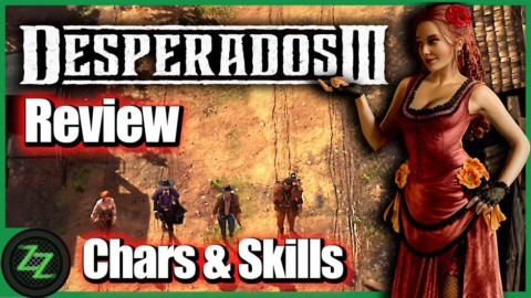 Desperados 3 Test-Review - Characters and Skills