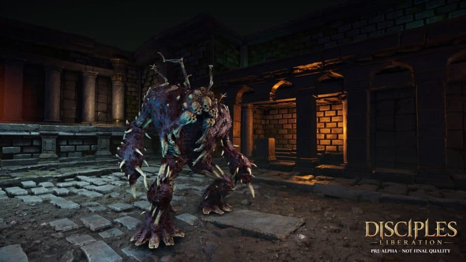Disciples Liberation Info Collection - Trailer, Release Date, Gameplay Screenshots, all info - fierce undead Monsters