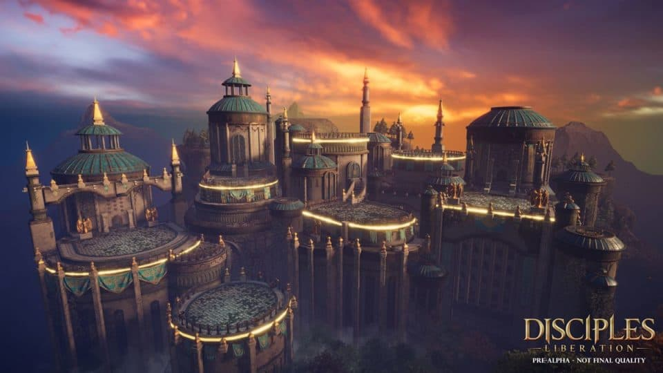 Disciples Liberation Info Collection - Trailer, Release Date, Gameplay Screenshots, all info - the golden towers of the city