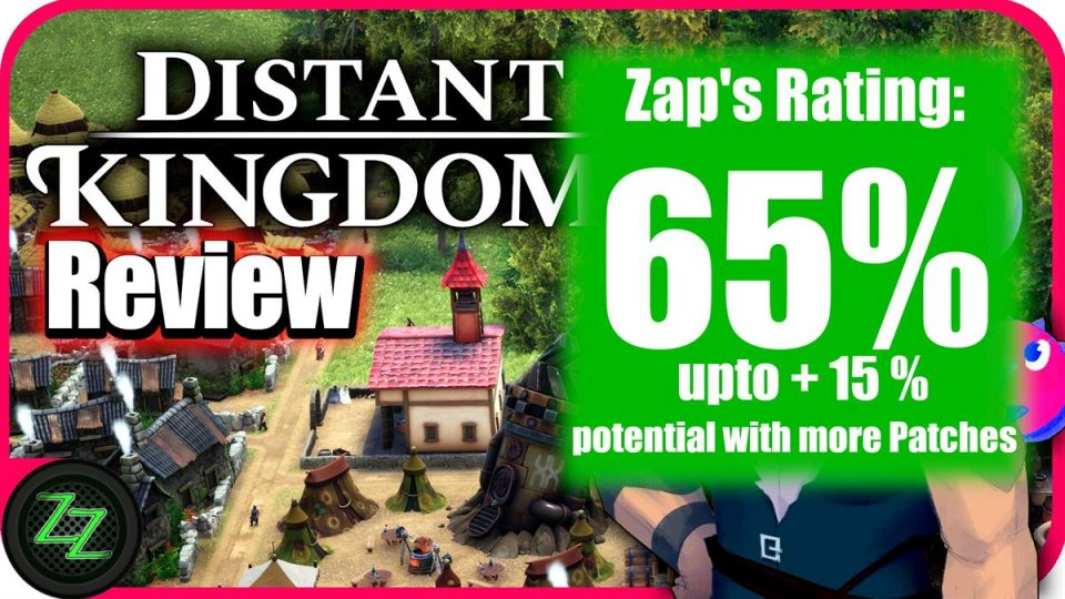 Distant Kingdoms Review Rating with Numbers - 65 Percent