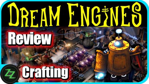 Dream Engines Nomad Cities Review Crafting and Gathering