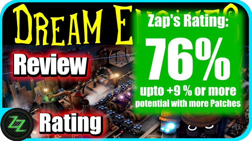 Dream Engines Nomad Cities Review Rating and Scoring with numbers 76 percent
