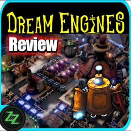 Dream Engines Nomad Cities Review - Steampunk Survival Buildup Strategy in Test