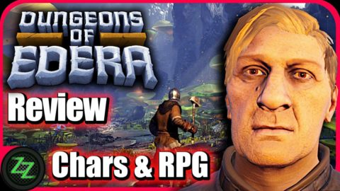 Dungeons Of Edera Review -  Chars and RPG