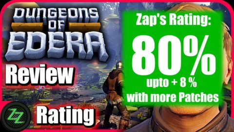 Dungeons Of Edera Review -  Rating - with numbers - 80 percent