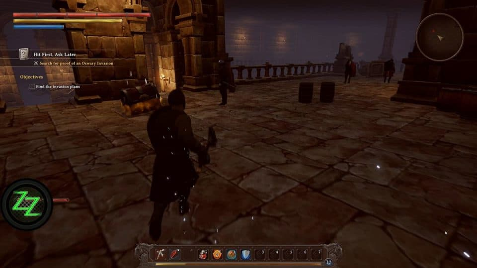 Dungeons Of Edera Test - Review - 3D roguelike Indie Dungeon-Crawler RPG - Castle Setting - Burg Gewölbe