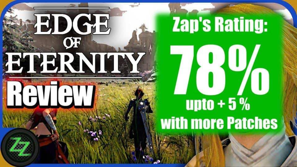 Edge Of Eternity Review - Test - Indie JRPG in Final Fantasy Style 10 Rating with numbers