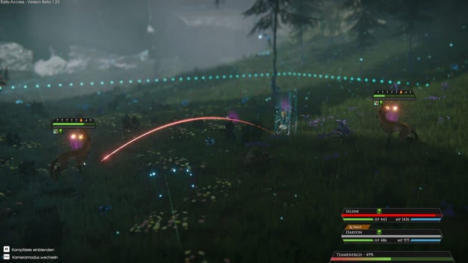 Edge Of Eternity Review - Test - Indie JRPG in Final Fantasy Style - Combat