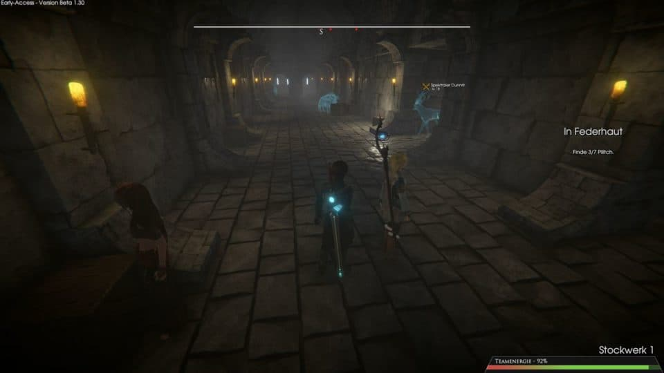 Edge Of Eternity Review - Test - Indie JRPG in Final Fantasy Style - Dungeon