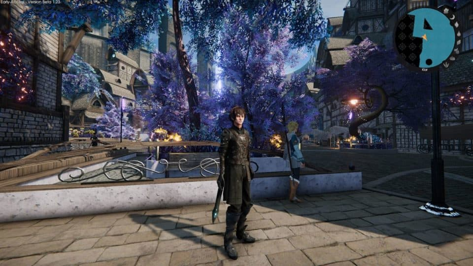 Edge Of Eternity Review - Test - Indie JRPG in Final Fantasy Style - In the city