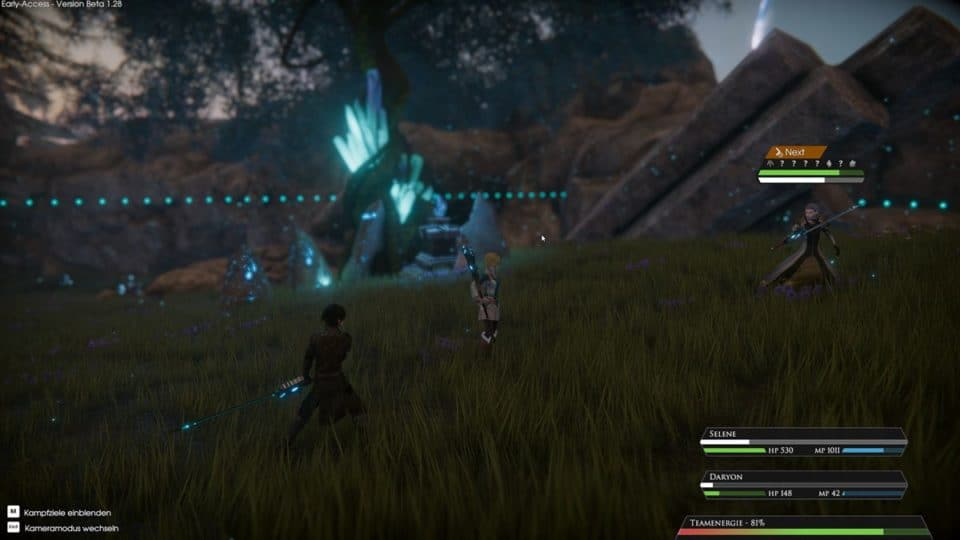 Edge Of Eternity Review - Test - Indie JRPG in Final Fantasy Style - Mage fight