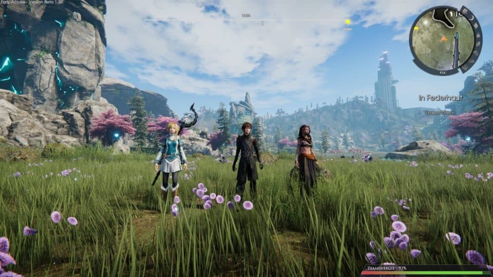 Edge Of Eternity Review - Test - Indie JRPG in Final Fantasy Style - Nice Weather