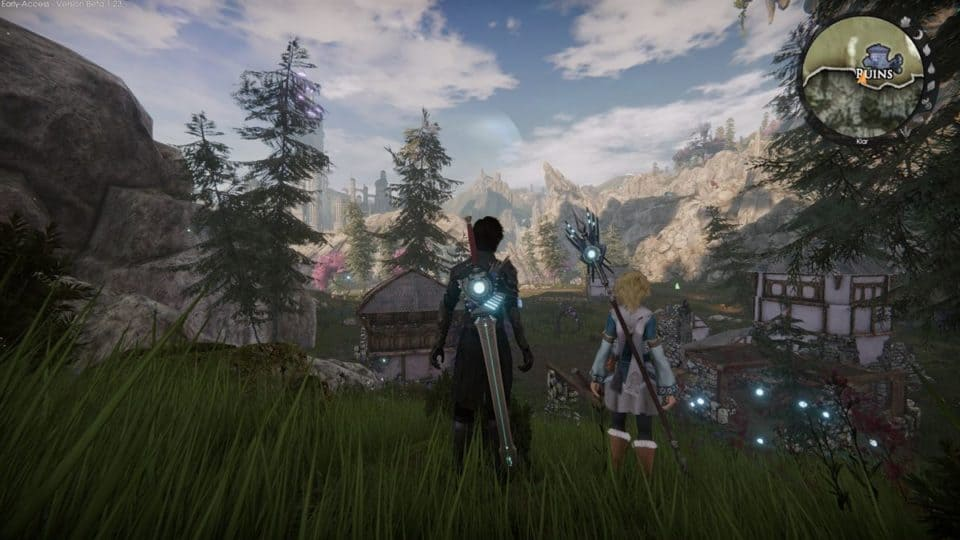 Edge Of Eternity Review - Test - Indie JRPG in Final Fantasy Style - Nice weather in the valley