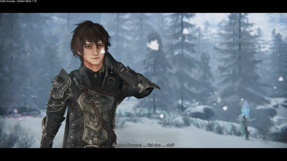 Edge Of Eternity Review - Test - Indie JRPG in Final Fantasy Style - Soldier Daryon smiling