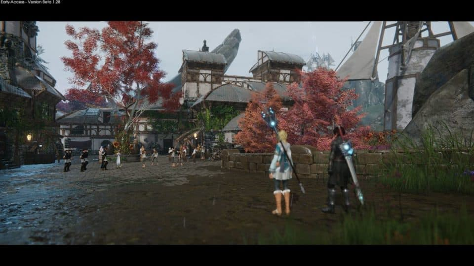 Edge Of Eternity Review - Test - Indie JRPG in Final Fantasy Style - village