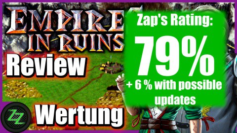 Empires in Ruins Test - rating with numbers - 79%