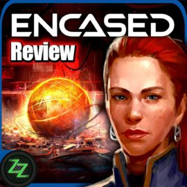 Encased Review post-apocalyptic retro RPG in test