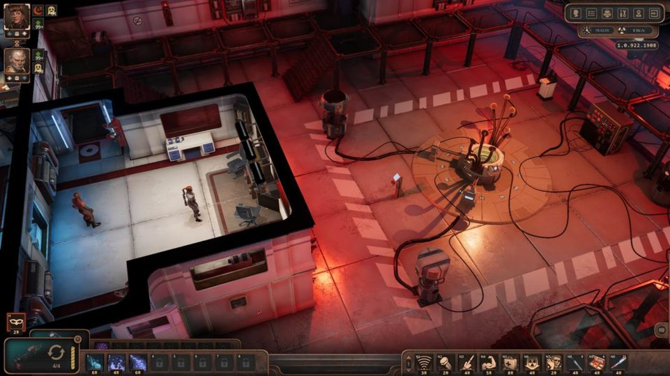 Encased review - postapokalyptisches Retro-RPG im Test - inside the research facility - im Forschungslabor