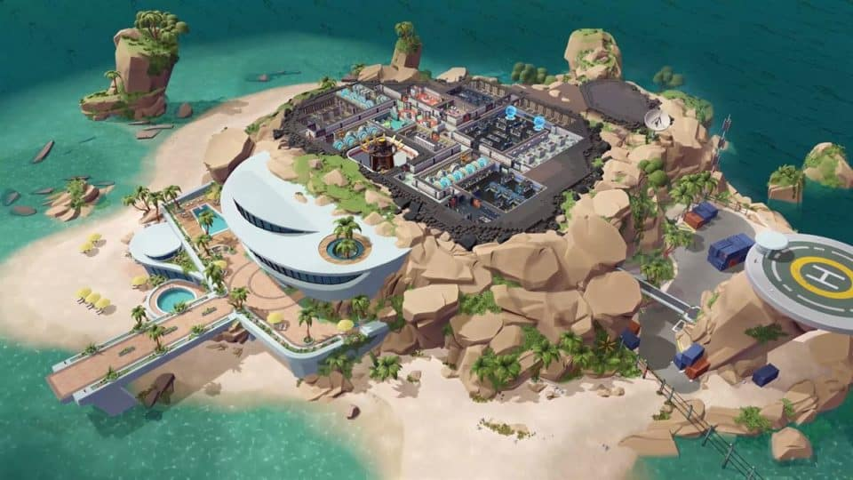 Evil Genius 2 2021 Remake - Release Date, Info, Trailer, Screenshots - The island base - build your base on several floors