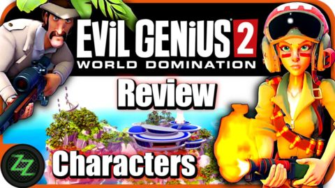Evil Genius 2 Gameplay Characters - Evil Geniuses, Henchman and Minions