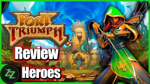 Fort Triumph Review Heroes and Characters