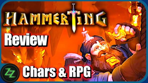 Hammerting Review Characters - RPG and Development