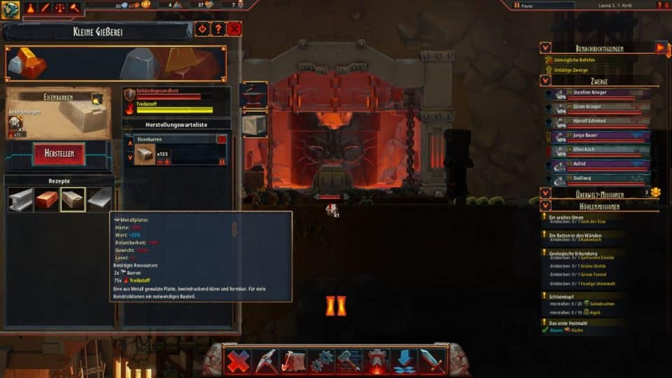 Hammerting Review - Test of the dwarf clan building strategy game | Gaming News