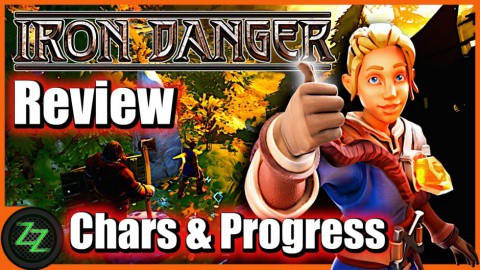 Iron Danger Test -  Characters and progress