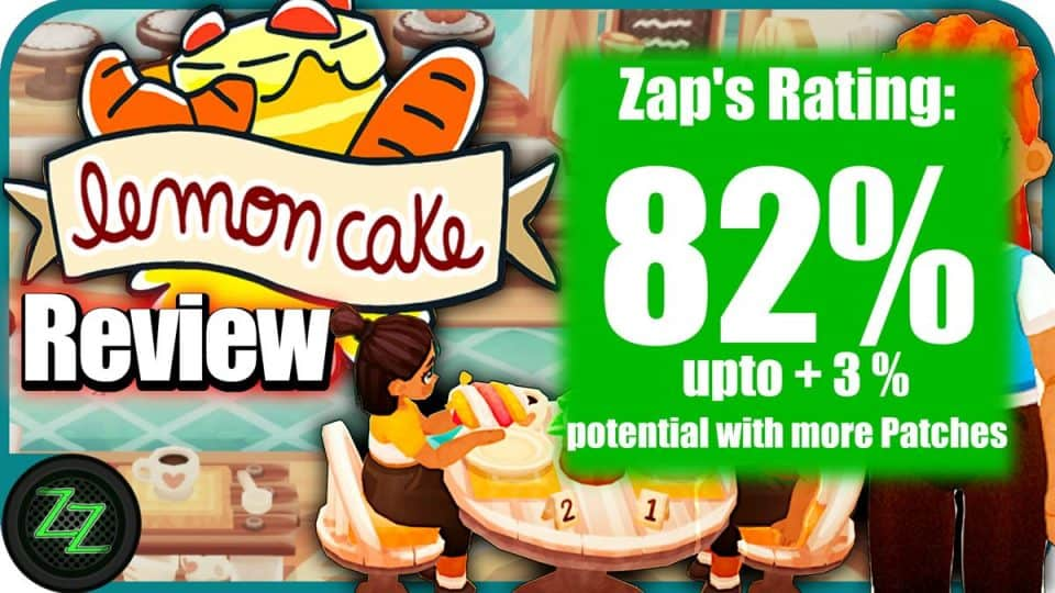 Lemon Cake Game Review Rating with numbers 82 percent
