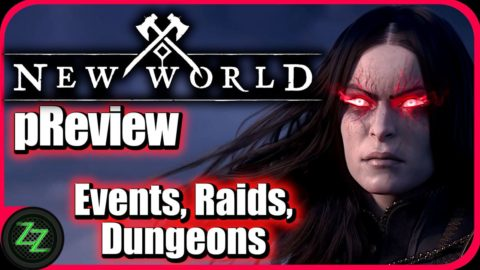 New World (p)Review English - PvE Player Test of Amazon's MMORPG 04 Gameplay PvE - Events, Raids, Dungeons