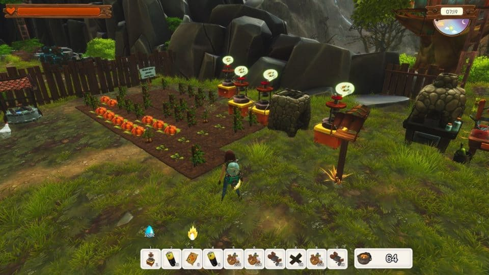 No Place Like Home Game Kurz-Review - Test - Rette die Welt vom Müll - farming survival rpg