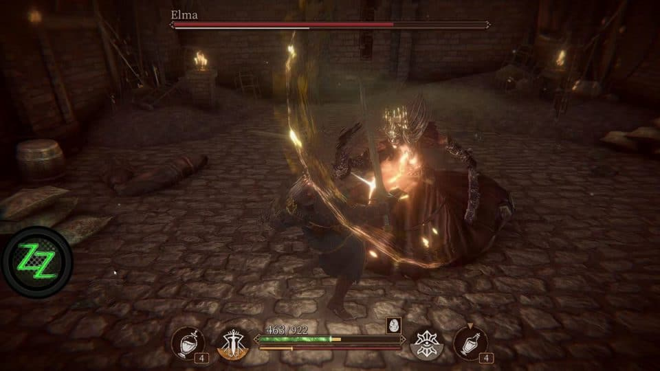 Pascal's Wager Definitive Edition - Review - Soulslike RPG im Test - Fight with Elma - Kampf mit Elma