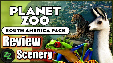 Planet Zoo South America DLC Review  The Scenery Parts