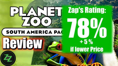 Planet Zoo South America DLC Review Rating with numbers - 78% with potential of 5% more with a better price