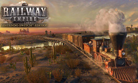 Railway Empires Nintendo Switch Edition Release Date Banner