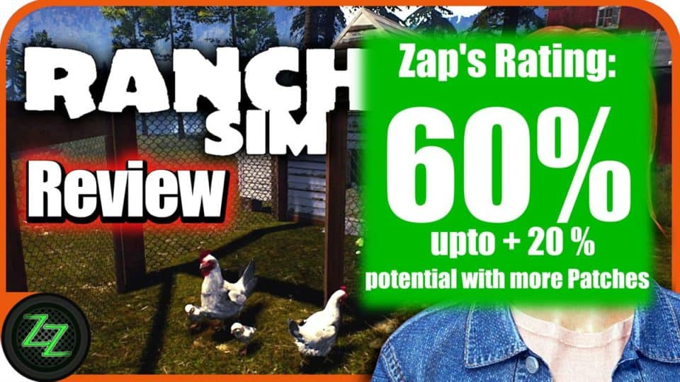 Ranch Simulator Review  Rating with numbers 60 percent - Wertung mit zahlen 60 prozent