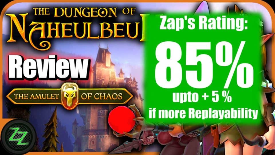 The Dungeon of Naheulbeuk Review - Test des Runden-Taktik RPG mit Humor 09 Rating - Wertung with numbers