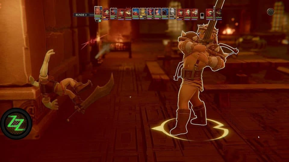 The Dungeon of Naheulbeuk Review - Test des Runden-Taktik RPG mit Humor - action close up camera like in XCOM - action camera Nahaufnahmen wie in XCom