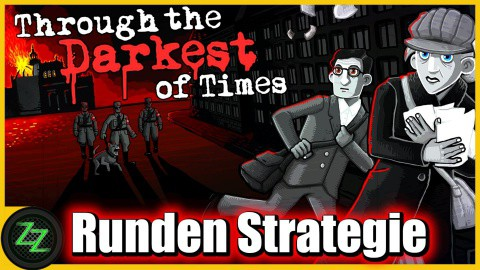 Through The Darkest Of Times Test - Gameplay - turn-based strategy